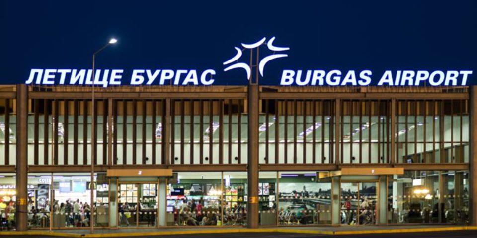 Ръст на пътниците на летищата в Бургас и Варна