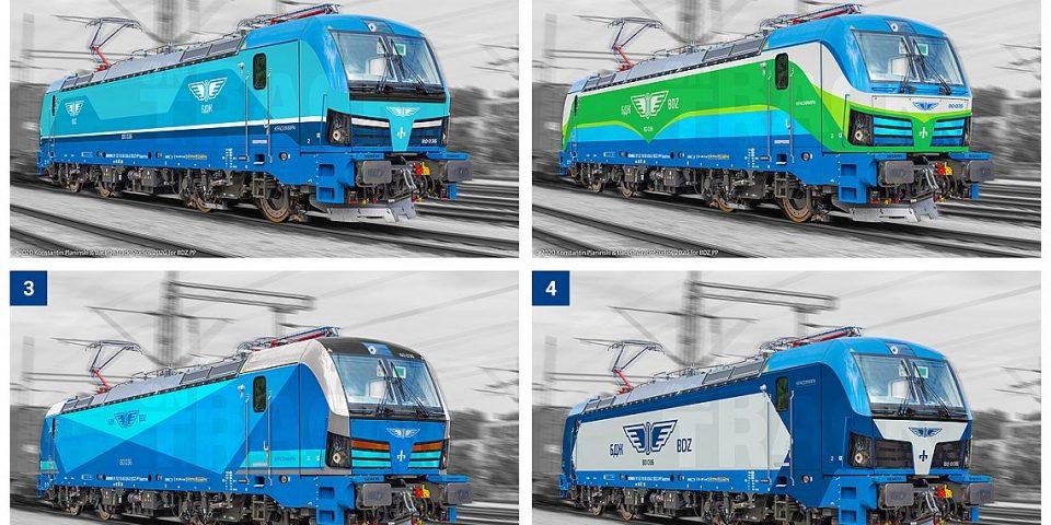 БДЖ представя за гласуване четири дизайна на новите Smartron локомотиви