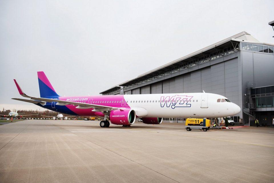 Първият Airbus A321 NEO се присъедини към флотилията на Wizz Air