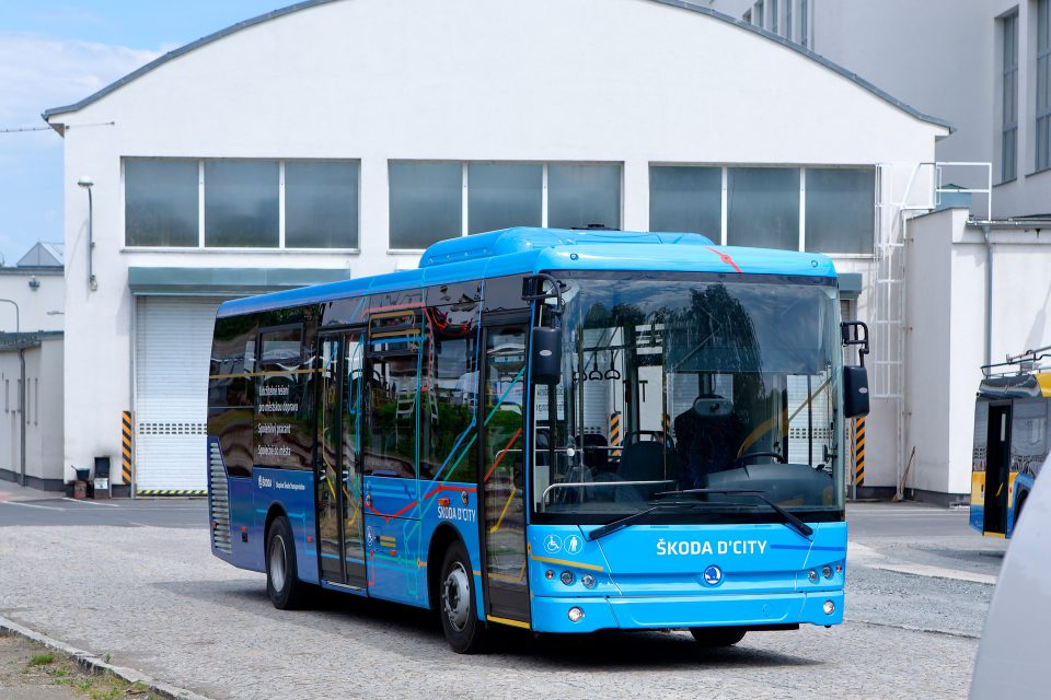 Škoda Transportation представи новия дизелов автобус Škoda D'CITY